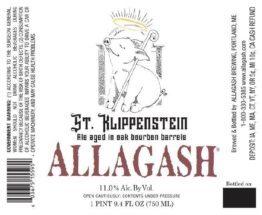 Buy Allagash St. Klippenstein Bourbon Aged Stout 750ml Online