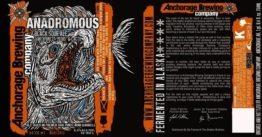 Buy Anchorage Anadromous Black Sour Ale 750ml LIMIT 2 Online
