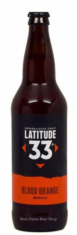 Buy Latitude 33 Brewing Blood Orange IPA 22oz Online