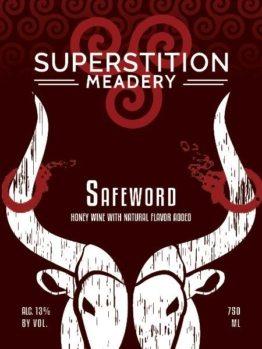 Buy Superstition Meadery Safeword 750ml Online