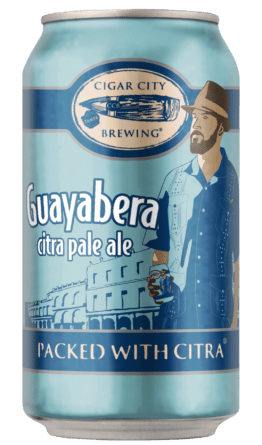 Buy Cigar City Brewing Guayabera Citra Pale Ale 12oz CANS Online