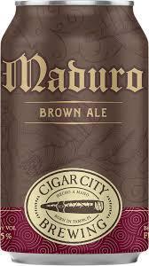 Buy Cigar City Brewing Maduro Brown Ale 12oz cans Online