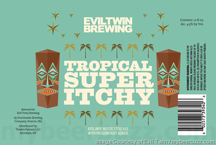 Buy Evil Twin Tropical Super Itchy 12oz Can Online